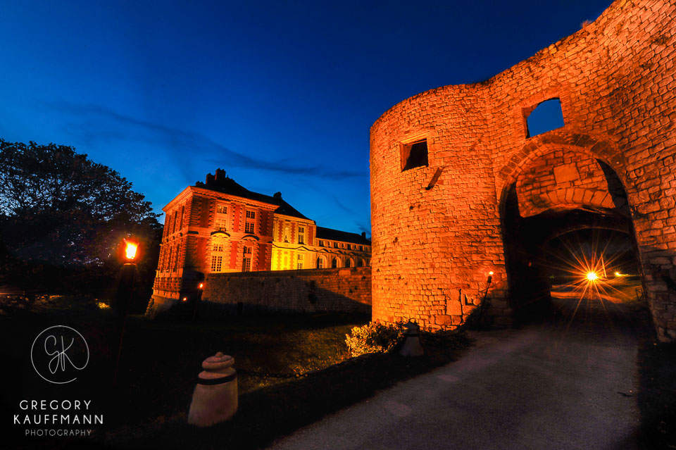 Image du château de Vallery en Bourgogne