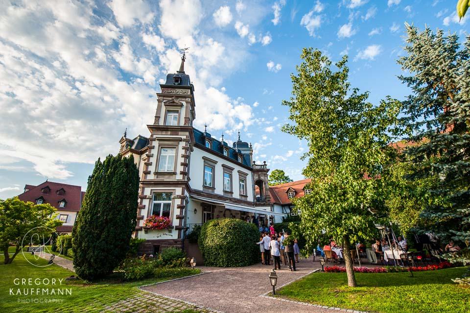 Image du château de l'Ile, un des lieux où se marier en Alsace