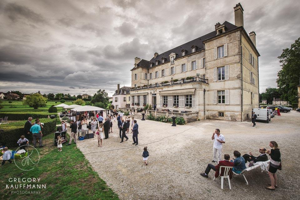 Image du château de Saulon en Bourgogne