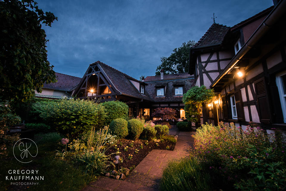 Image de la Ferme Marie-Hélène un des lieux de mariage magnifiques en Alsace