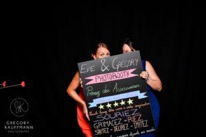 Le Crazy Photobooth du mariage d'Eve et Greg !