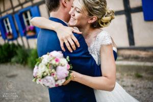 Un mariage romantique à l'écomusée d'Alsace