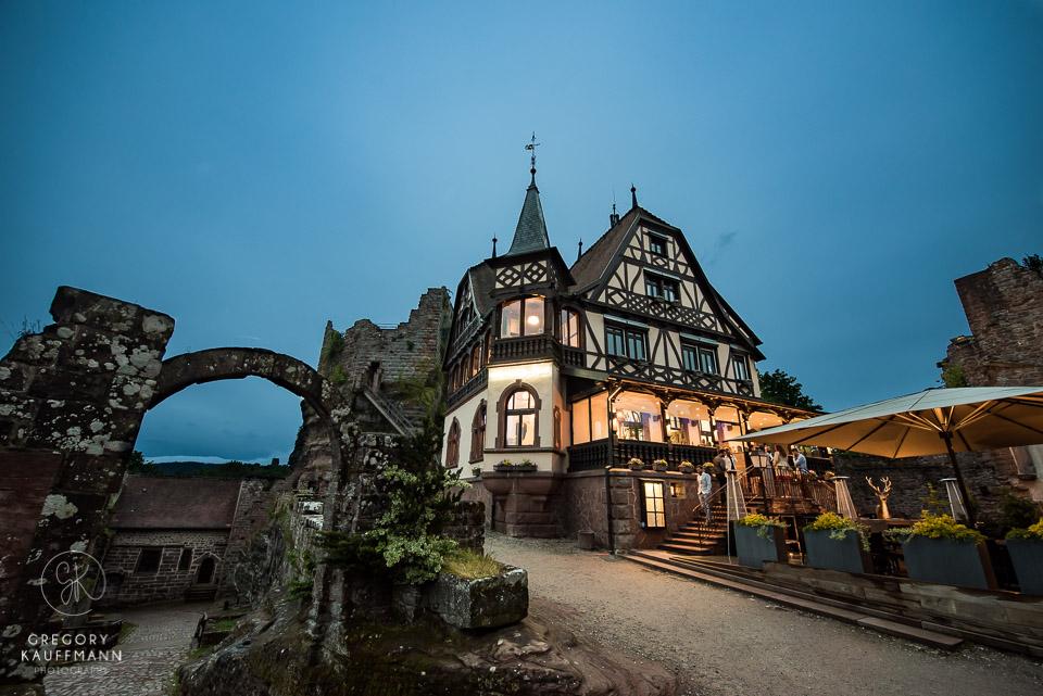 mariage au château du Haut-Barr