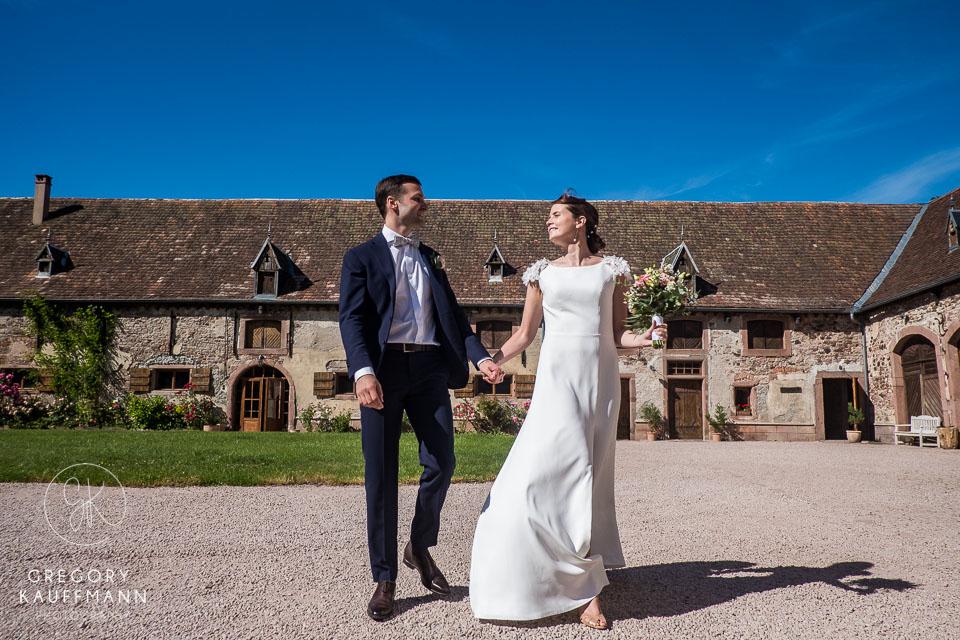 mariage au château de Thanvillé