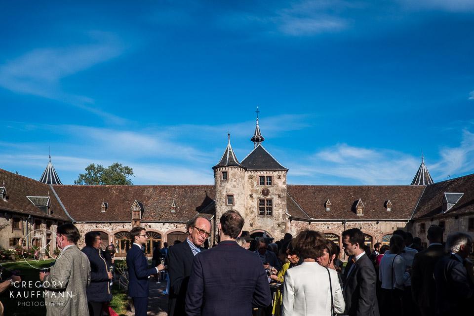 photos de mariage au château de Thanvillé