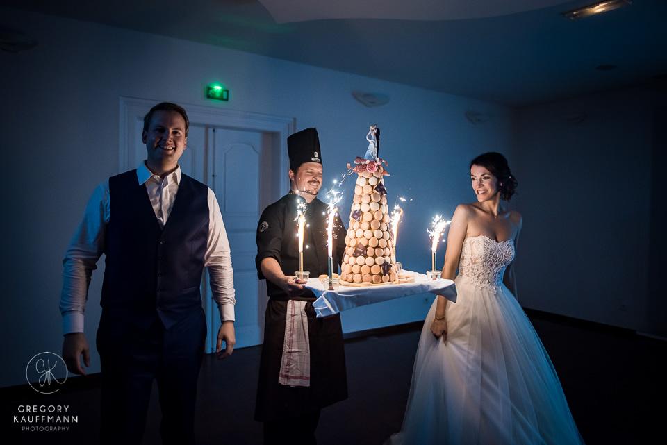 photos d'un mariage à la confrérie Saint-Etienne