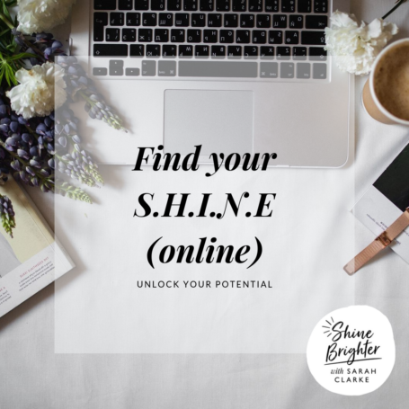FIND YOUR SHINE ONLINE WSC