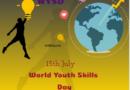 World Youth Skills Day 15 July 2020 Theme