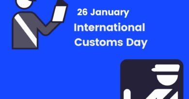 International Customs Day 26th January 2021