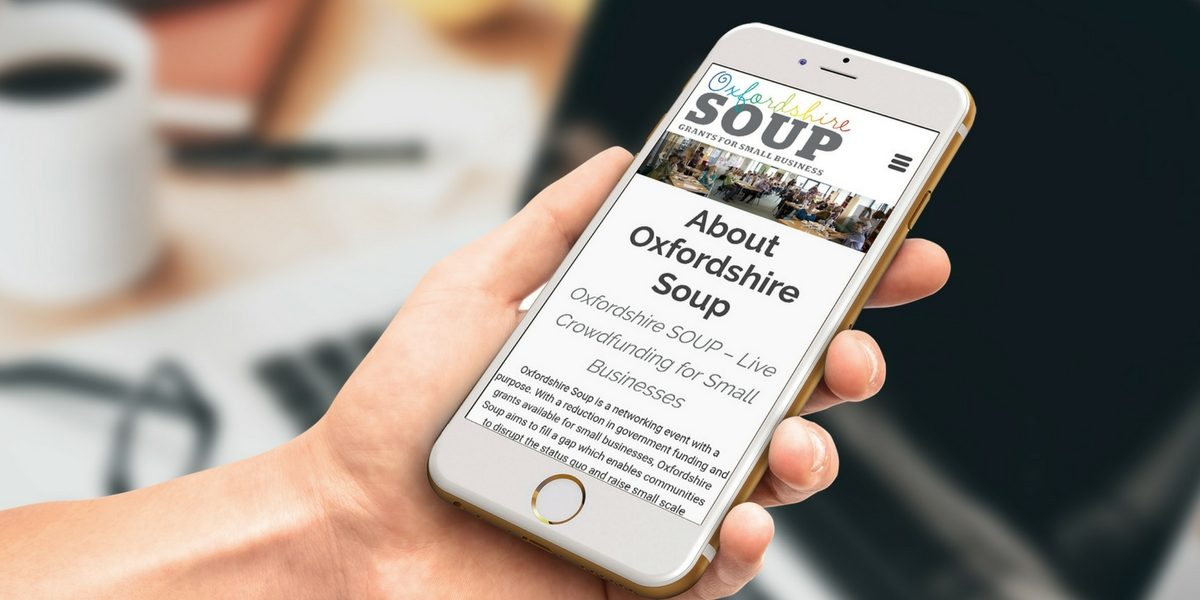 Portfolio Oxfordshire Soup Web Design and Digital Marketing