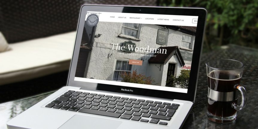 Portfolio The Woodman Inn Digital Marketing