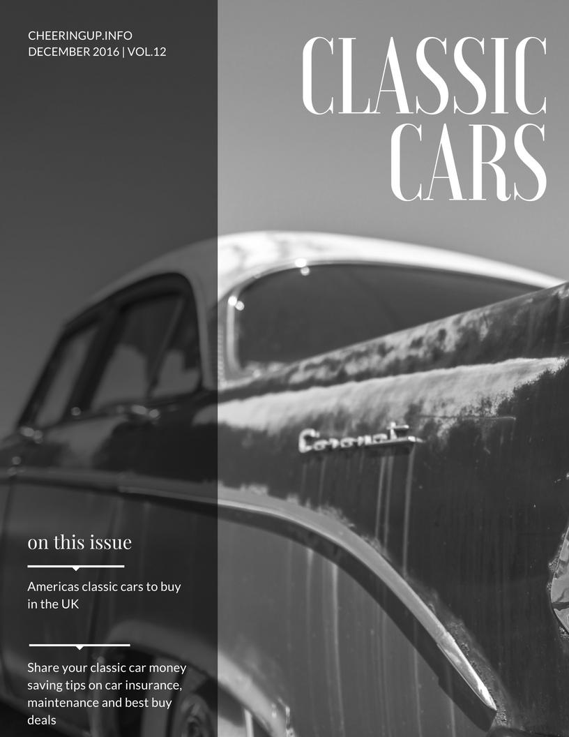 Classic car magazine online