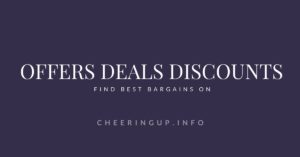 Best Deals Discounts Special Offers on cheeringup.info