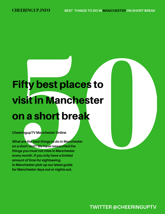Best Things To Do In Manchester