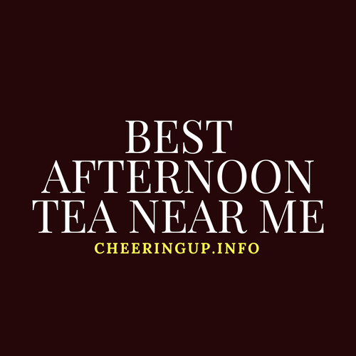 Afternoon Tea Offers Near Me