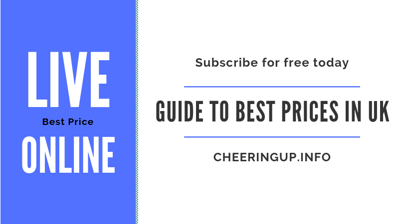 Benefit from CheeringupInfo offers and free UK delivery