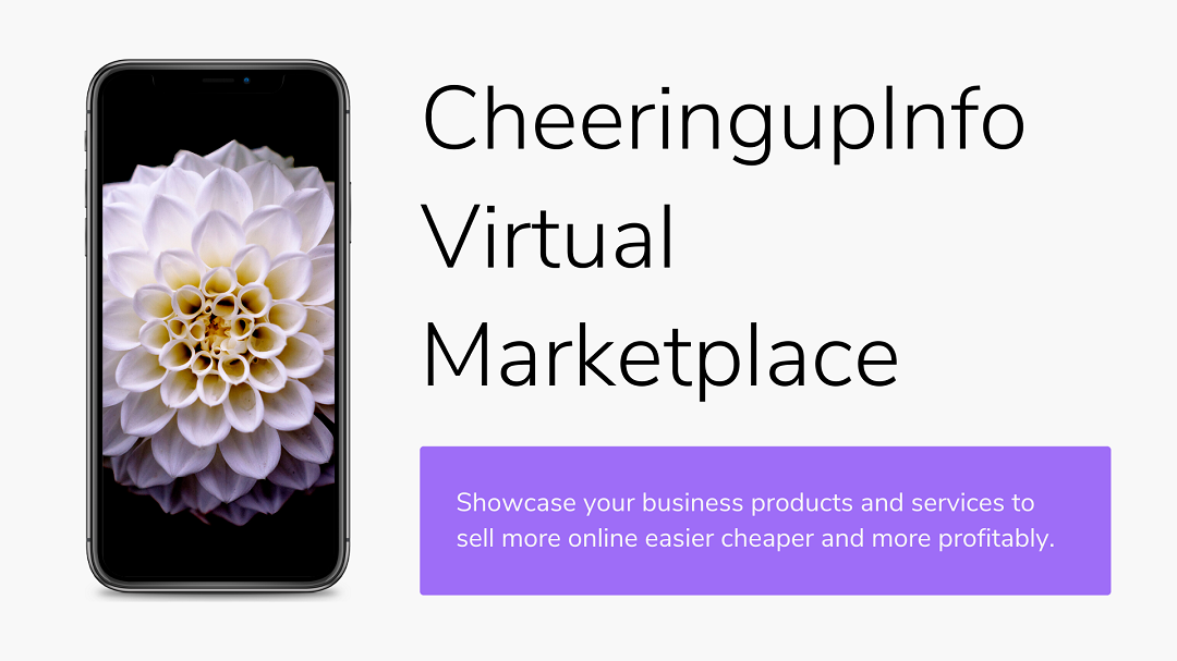 CheeringupInfo Virtual Market Place