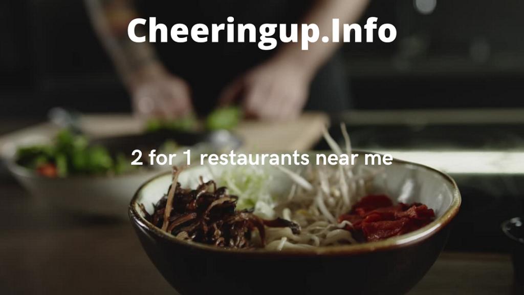 Find Best Restaurant Deals Near Me