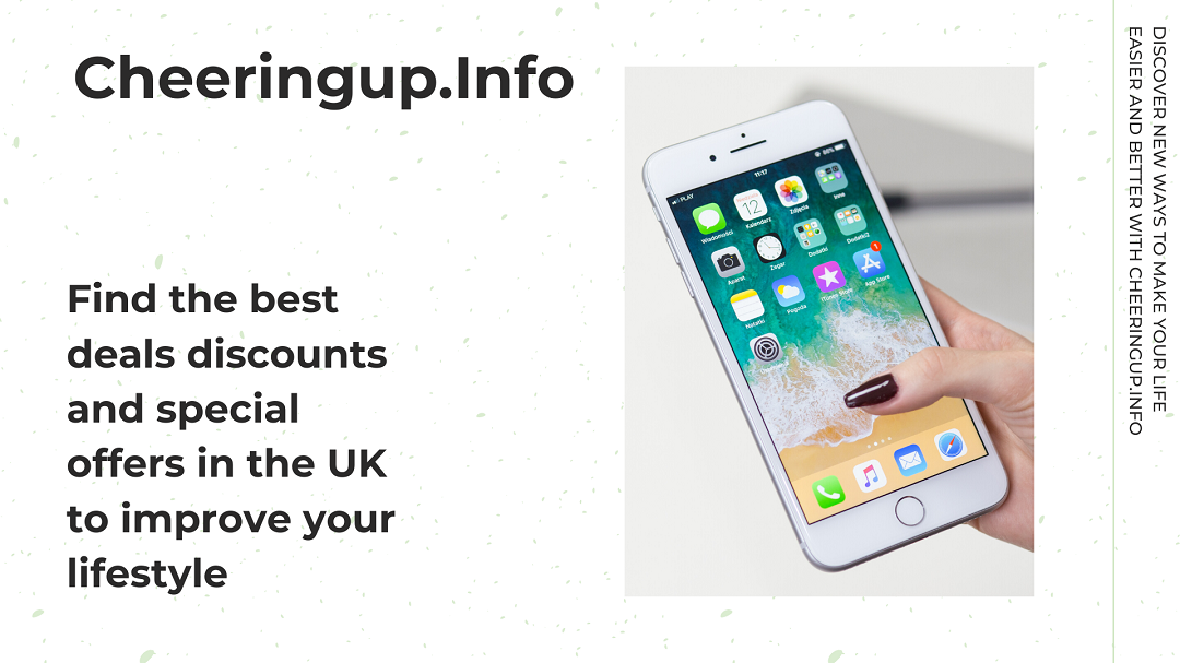 Find the best deals discounts and special offers in UK