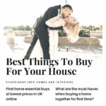 Moving Into First House Checklist