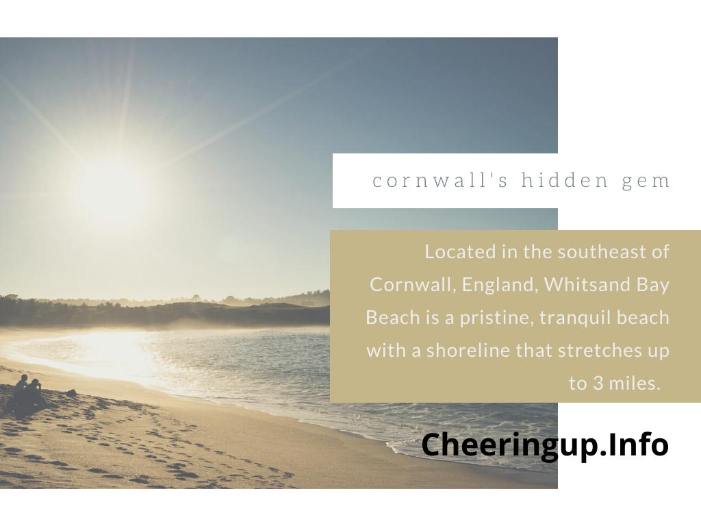 Cornwall Best Beaches Whitsand Bay Beach