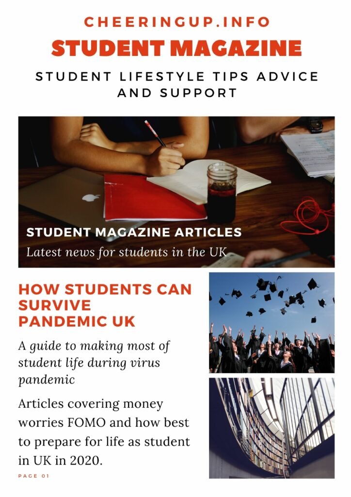 Student Lifestyle Pandemic Survival Tips Advice and Support