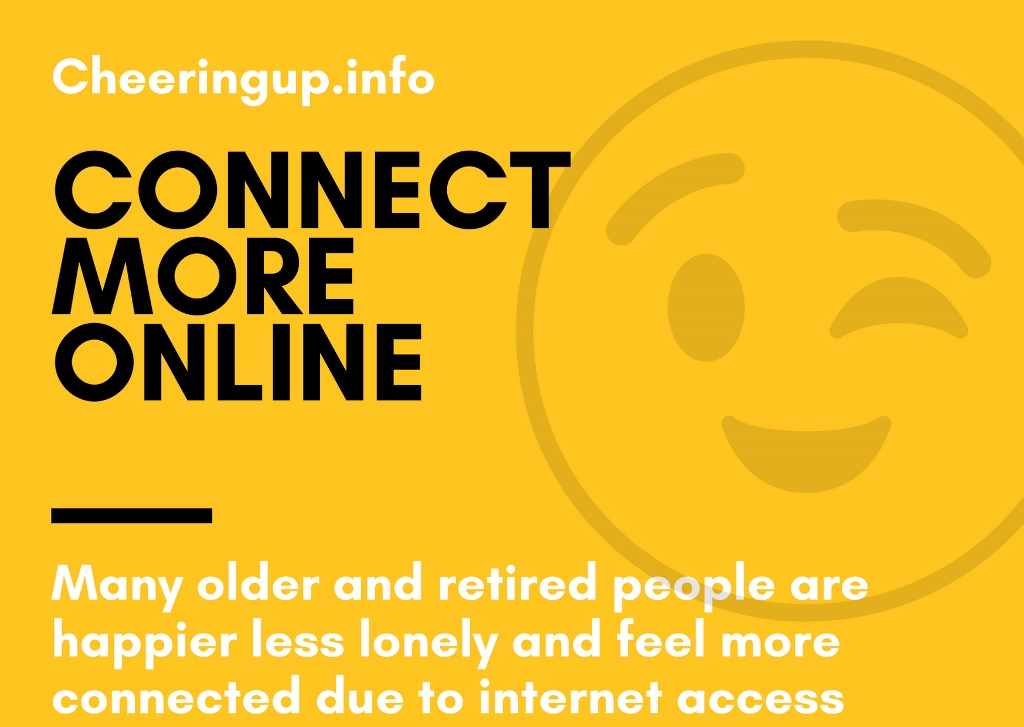 Retired and Older People Feeling More Connected Online In UK