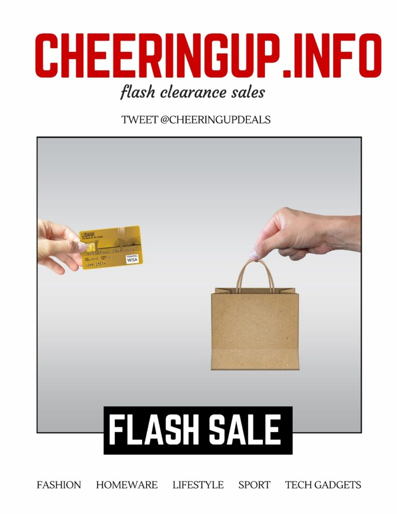 Flash Sale CheeringupInfo
