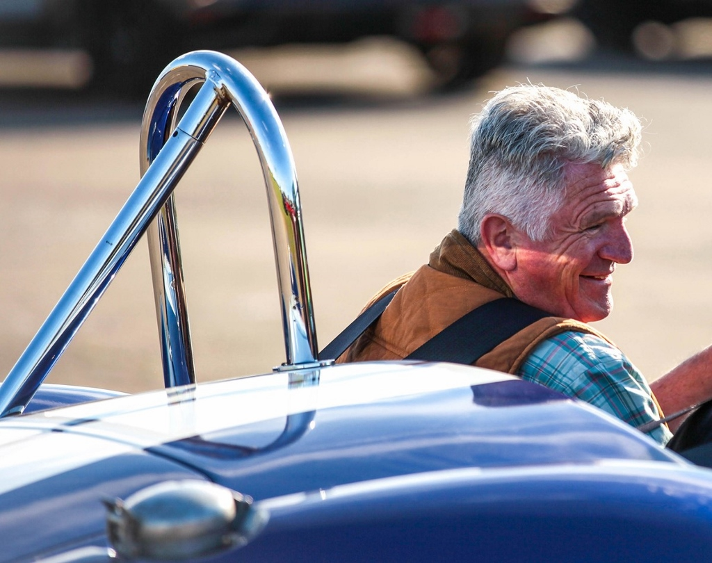 Supercar Experience For Older Generation UK