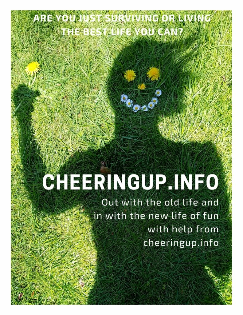 Out with the old life and in with the new life of fun with help from cheeringup.info