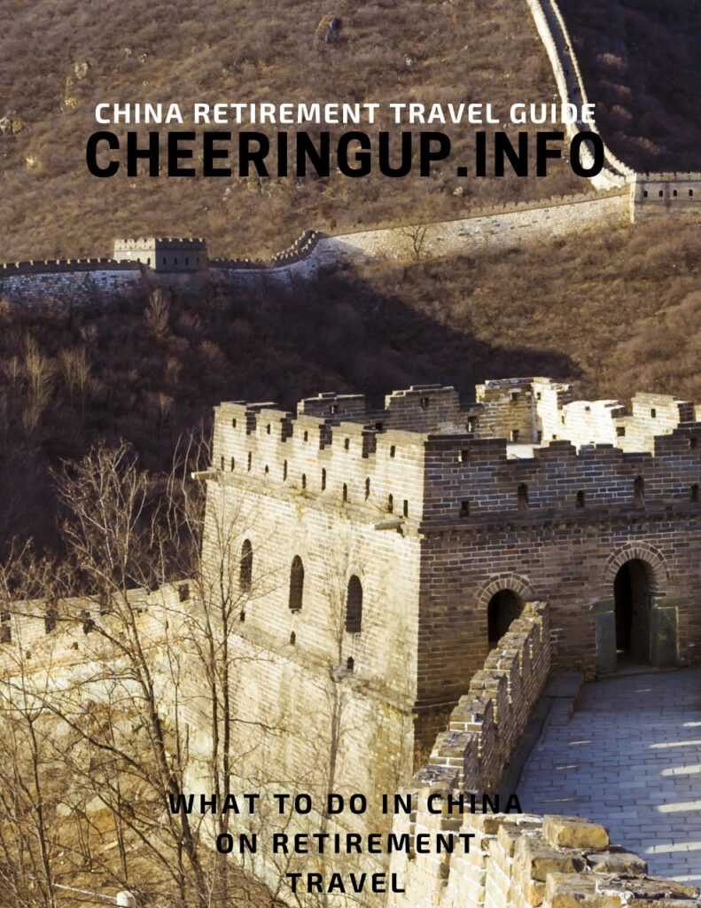 What to do in China on retirement travel