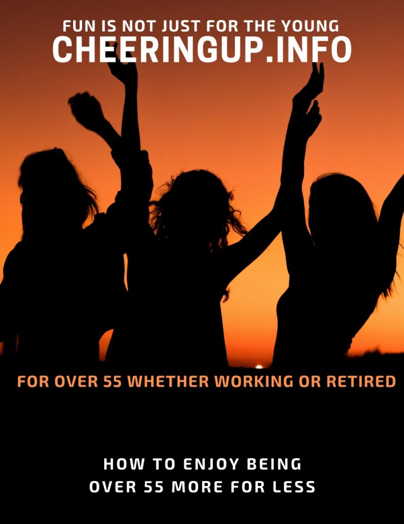 How to enjoy being over 55 more for less