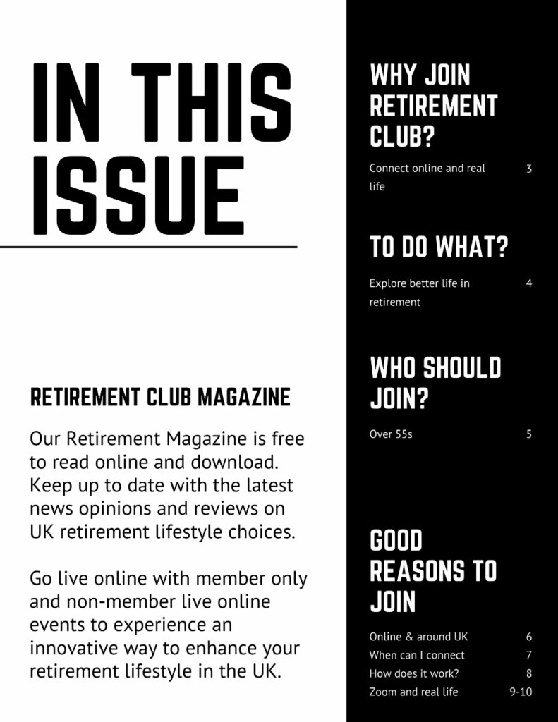 Retirement Magazine Free Subscription