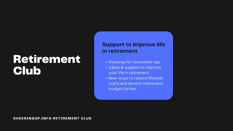 Retirement Magazine Retirement Club