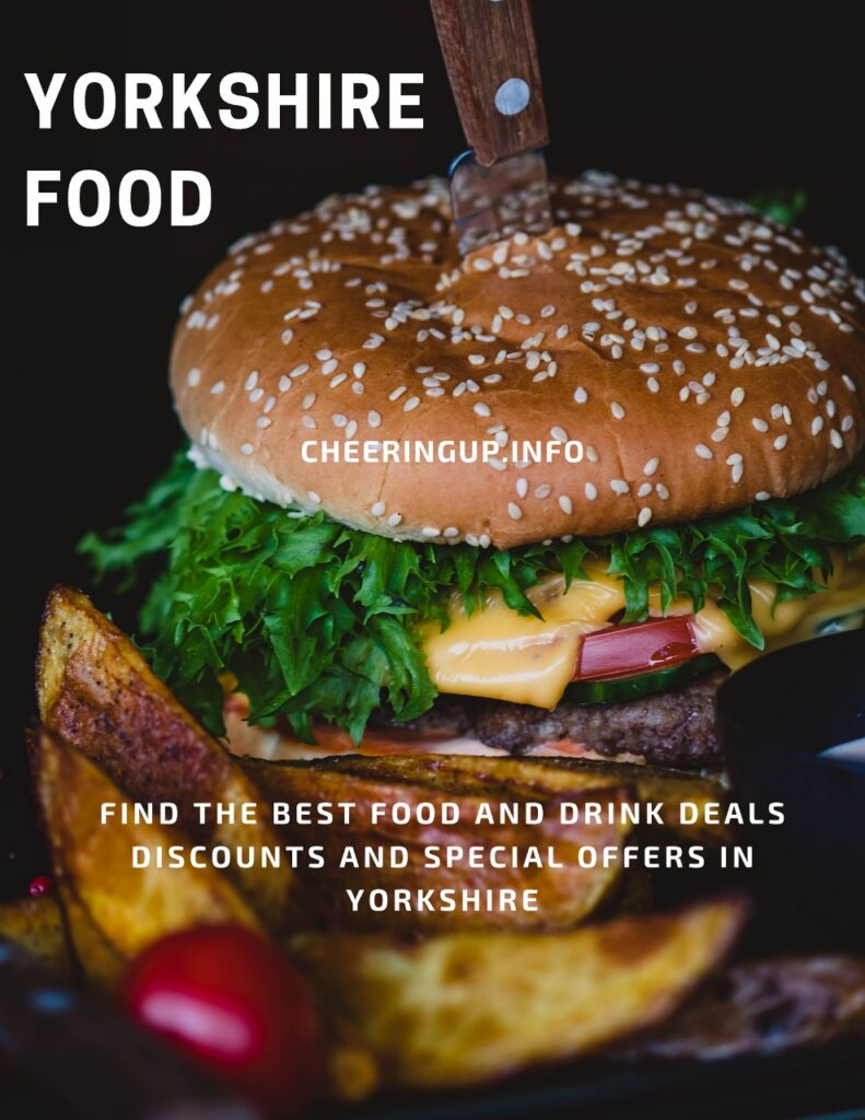 Find the best food and drink deals discounts and special offers in Yorkshire