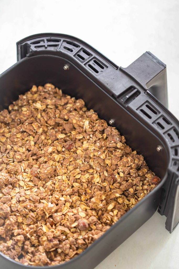 Granola in the Air Fryer Chocolate
