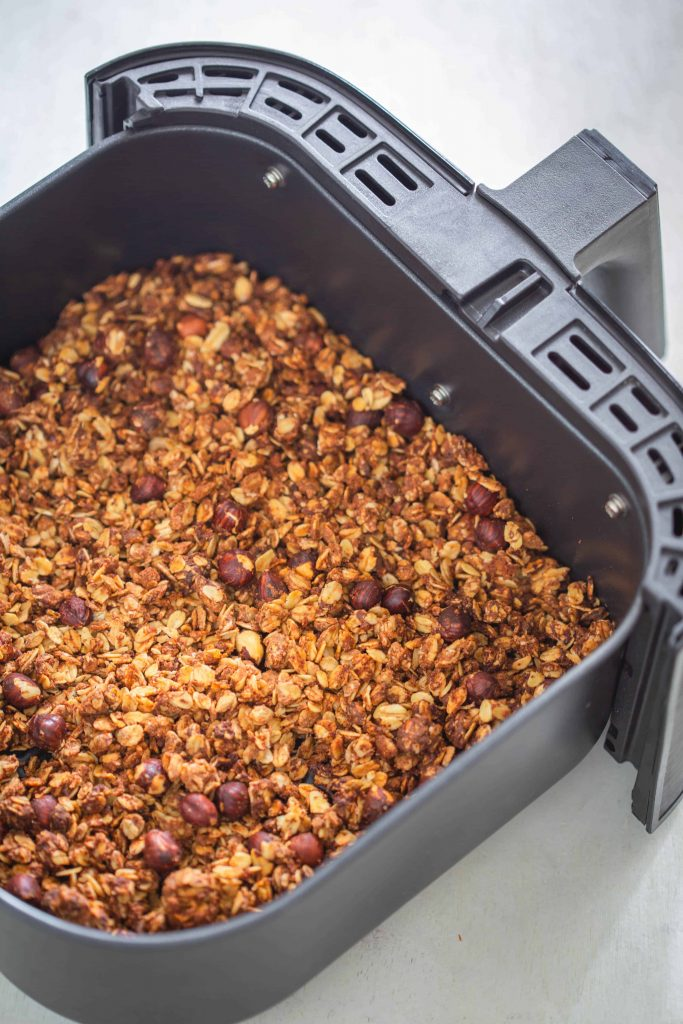 Granola in the air fryer