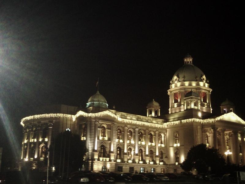 Zatvaraju se ulice u centru Beograda zbog koncerata kod Doma Narodne skupštine