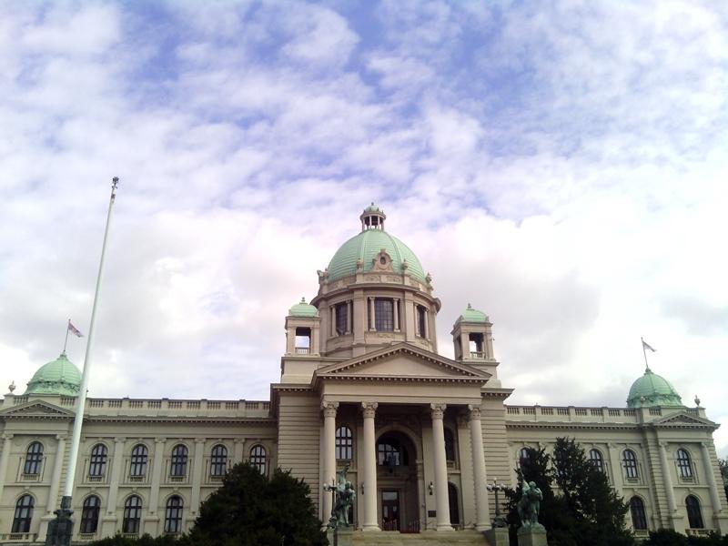 Na mestu današnjeg Doma Narodne skupštine stajala je Batal džamija