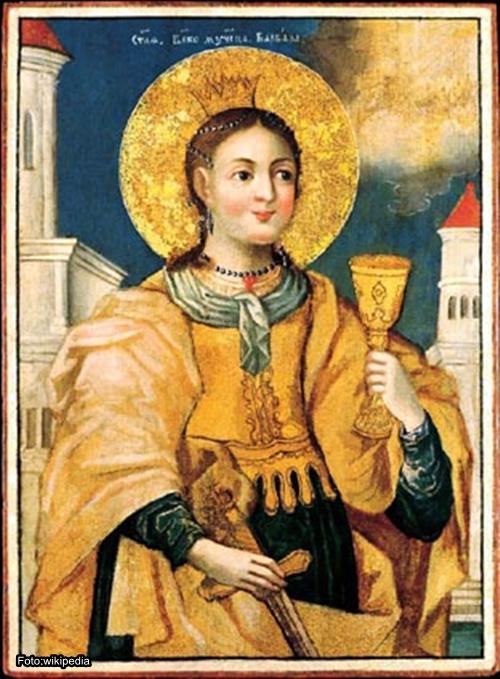 Sveta Varvara sa njom je nekada počinjala Nova godina a i narodna vračanja