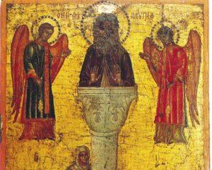 Praznik posvećen Svetom Alimpiju Stolpniku