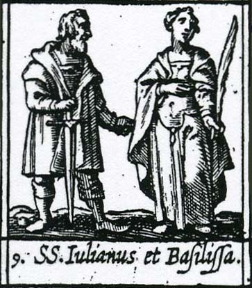 Svеti mučеnici Juliјan i Vasilisa