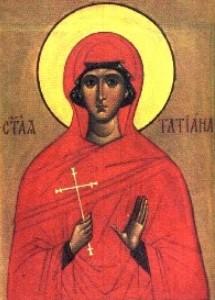 Sveta mučenica Tatijana – Tatjana Rimska