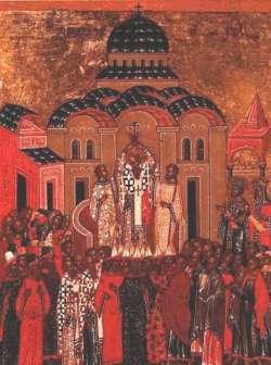 Zimski Krstovdan – Sveštenomučenik Teopemt i Teona