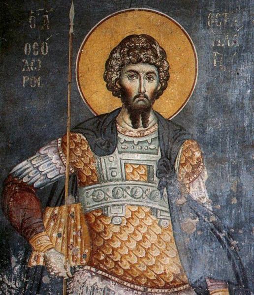 Sveti Teodor Tiron – Zatvoren da umre od gladi