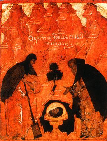 Obretenje glave Svetog Jovana