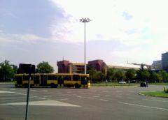 Protest studenata kod opstine Novi Beograd