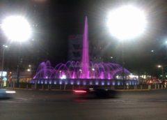 Muzički program nije bio samo kod Doma Narodne skupštine već i kod fontane na Slaviji