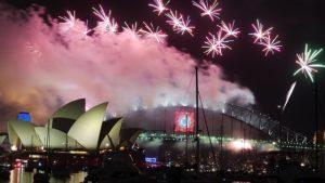 Nova godina stigla i u Australiju ( Video)