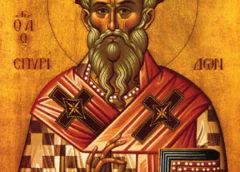 Sveti Spiridon- Ovog sveca proslavljaju deca i majke,a nekima je danas i slava